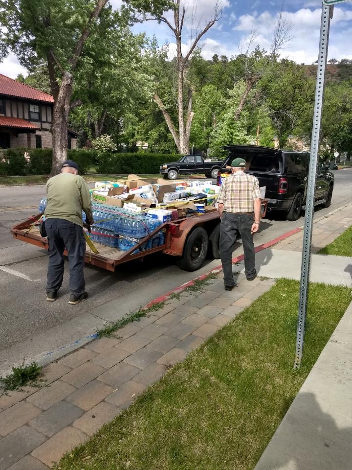 A BIG SUCCESS!  The Week-long Food Drive for Newcomb