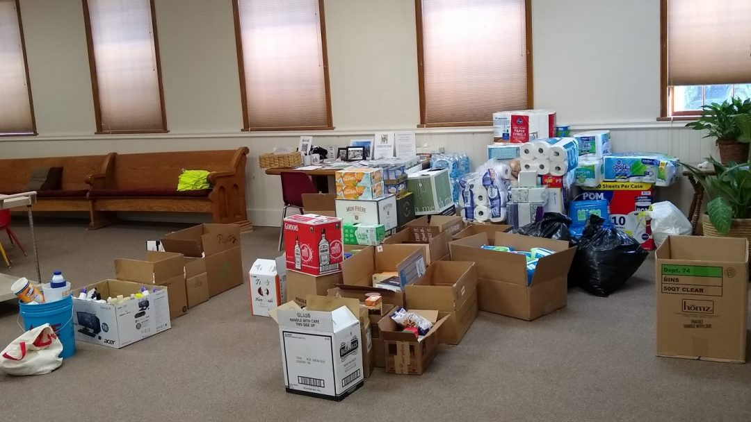 In the Spotlight – The Newcomb Food and Water Drive