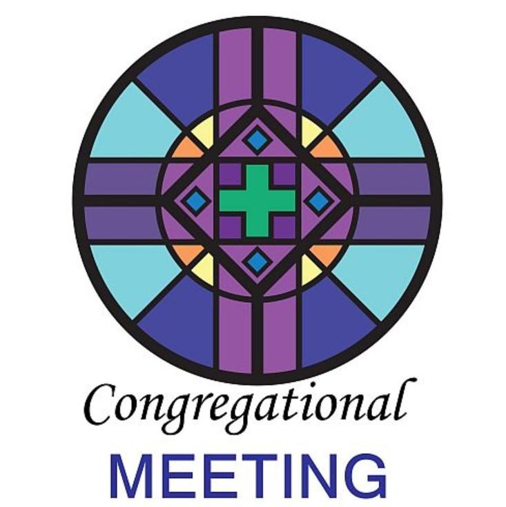 Congregational Meeting following Worship – October 11 2020