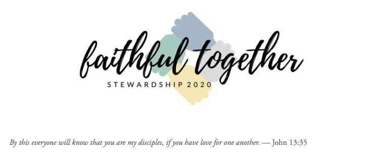 Our Stewardship Campaign Underway