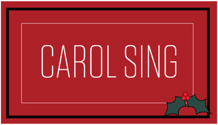 Carol Sing – The First Sunday after Christmas, December 27, 2020