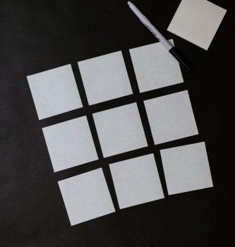white and black checkered board