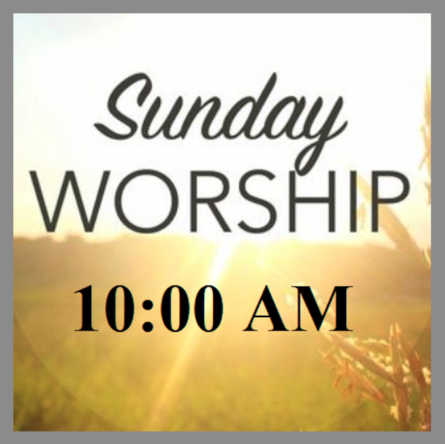 This Sunday's Worship Service